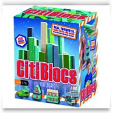 Cool Colors Precision Cut Building Blocks