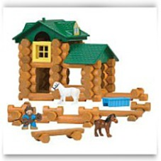 Knex Lincoln Logs Sunnyfield Stable