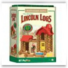 Save Lincoln Log Buckaroo Barn Building Set