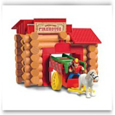 Lincoln Logs Frontier Firehouse