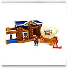 Save Lincoln Logs Stage Coach Station