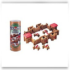 Roy Toy Classic Fort In Large Canister