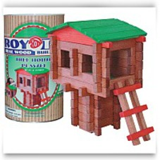 Tree House Log Building Set