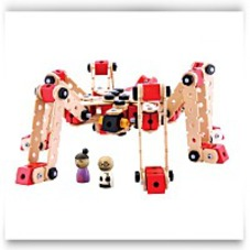 Save Wud Workers 230 Piece Spider Hawk