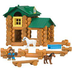 k'nex lincoln logs sunnyfield stable building