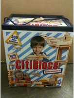 Citi Blocs 300 Wooden Building Blocks